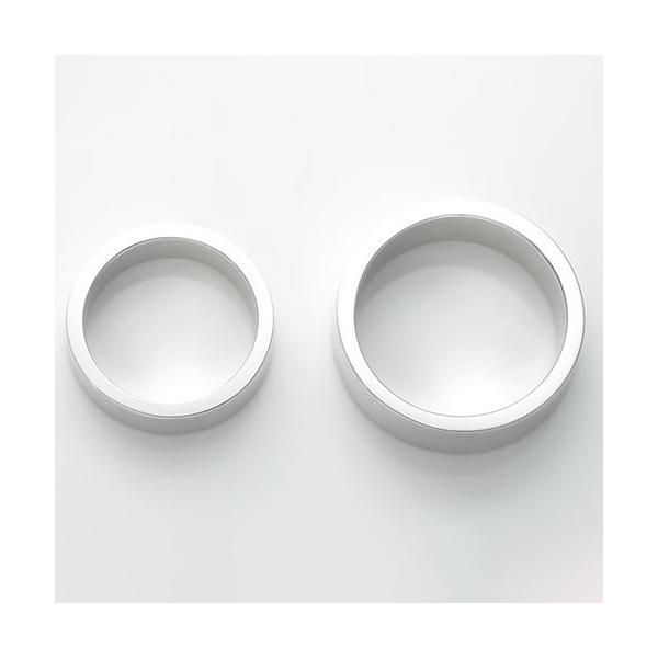 ペアリング 刻印 セット 人気 カップル シルバー セミオーダーメイド シンプル 誕生石/001R-K(hub)|select-alei|03