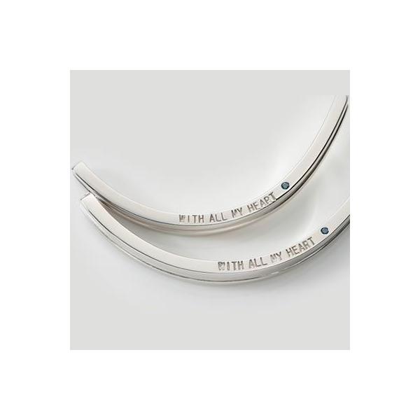 ペアバングル 大人 メンズ レディース シルバー クロス 人気 ブランド close to me (SVA13-009010)|select-alei|03