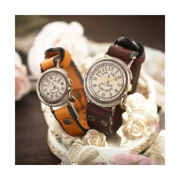 ペアウォッチ アンティーク調 ハンドメイド 送料無料 セイコー 腕時計/THE LOVE four|select-alei