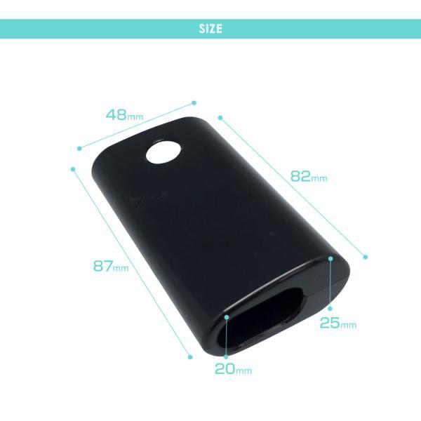 glo グロー ケース カバー グローケース ハード セパレート 電子たばこ ブラック クリア シガレットケース|select-com|07