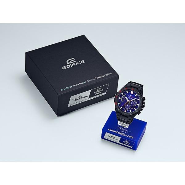 6d979dc405 ... 国内正規品』 EFR-563TRJ-2AJR CASIO 腕時計 EDIFICE エディフィス スクーデリア・ ...