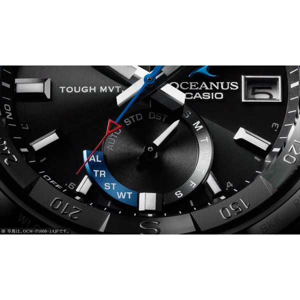 『国内正規品』 OCW-P1000-1AJF カシオ CASIO ソーラー電波腕時計 OCEANUS オシアナス CACHALOT カシャロ|select-s432|03