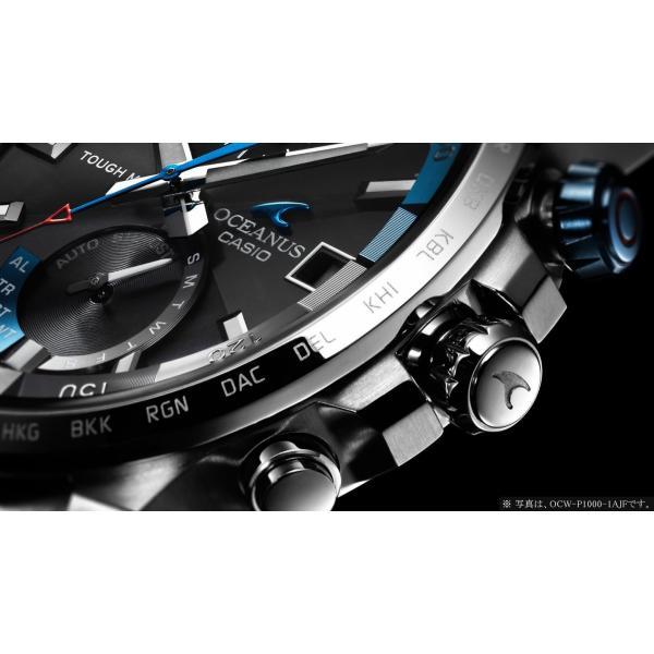 『国内正規品』 OCW-P1000-1AJF カシオ CASIO ソーラー電波腕時計 OCEANUS オシアナス CACHALOT カシャロ|select-s432|04