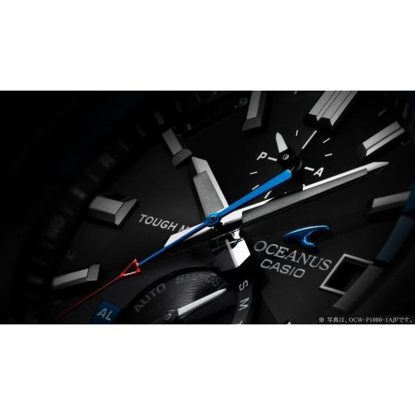 『国内正規品』 OCW-P1000-1AJF カシオ CASIO ソーラー電波腕時計 OCEANUS オシアナス CACHALOT カシャロ|select-s432|06