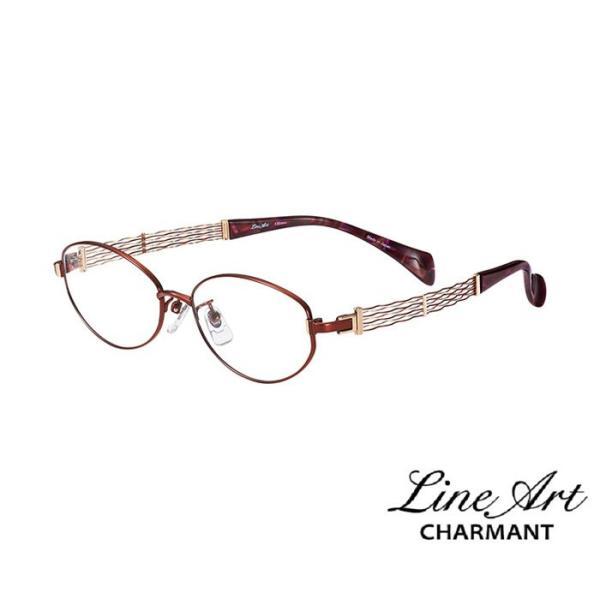 ラインアート シャルマン Line Art メガネ フレーム XL1068 オペラコレクション カラー WI ワイン サイズ 51 伊達 眼鏡 形状記憶 女性用 国内正規品