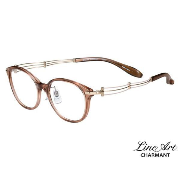 ラインアート シャルマン Line Art メガネ フレーム XL1472 トリオコレクション カラー PK ピンク サイズ 51 伊達 眼鏡 形状記憶 女性用 国内正規品
