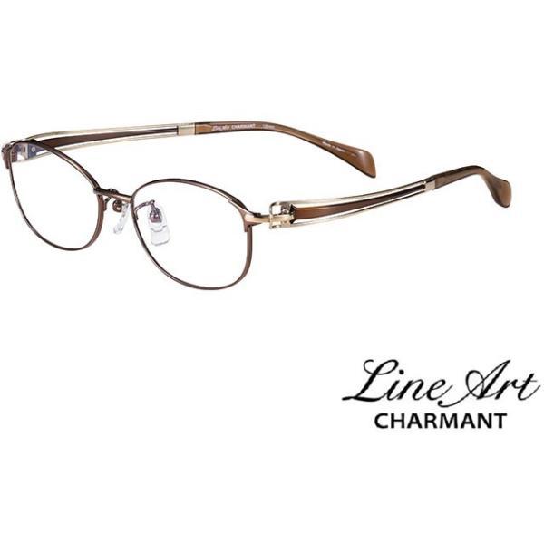 ラインアート シャルマン Line Art メガネ フレーム XL1600 ヴィヴァーチェコレクション カラー BR ブラウン サイズ 51 伊達 眼鏡 形状記憶 女性用 国内正規品