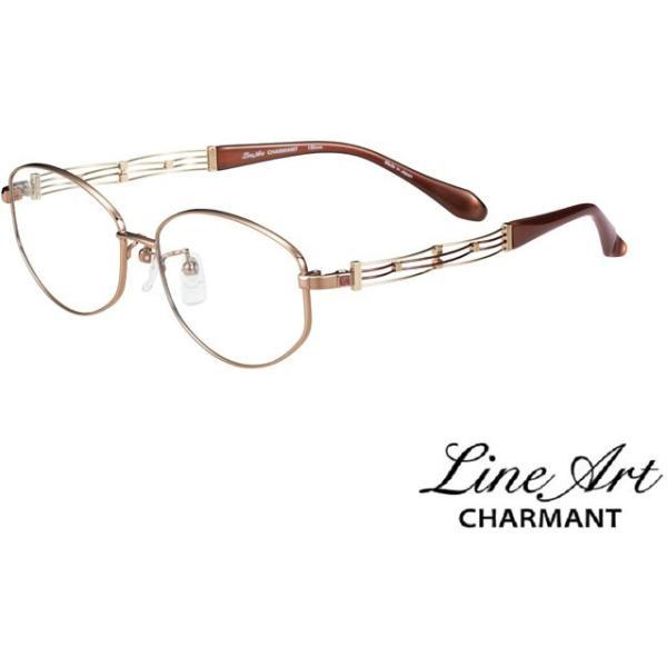 ラインアート シャルマン Line Art メガネ フレーム XL1608 カノンコレクション  カラー BE ベージュ サイズ 53 伊達 眼鏡 形状記憶 女性用 国内正規品