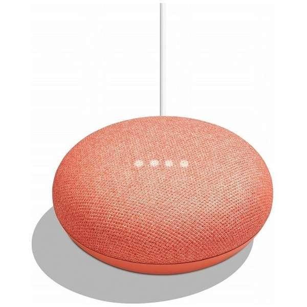 RoomClip商品情報 - Google グーグル  スマートスピーカー Google Home Mini GA00217JP コーラル
