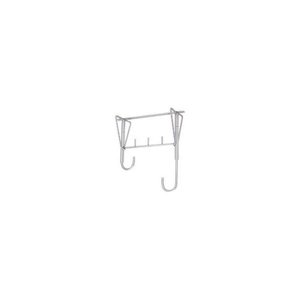 新協和バルコニー物干金物 アルミ式自在型(1本)SK-4153A 高さ調節:380〜530mm 洗濯干し ハンガー 物干し 物干し竿 物干し台 スタンド 屋内 ベランダ用 バ