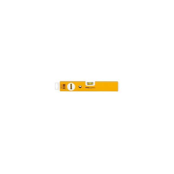 ムラテックKDS アルミレベル標準品PRO 30 (L×H×W)300×50×21mm 水平器 測定器 傾斜計 勾配計 測定器具 水平計 diy 作業工具 大工道具