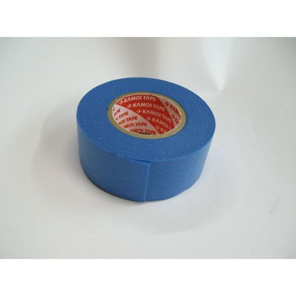 【メール便可】 カモイ シーリングテープ24mm×18M 1巻 マスキングテープ 養生テープ 目地塗り 塗装作業 diy