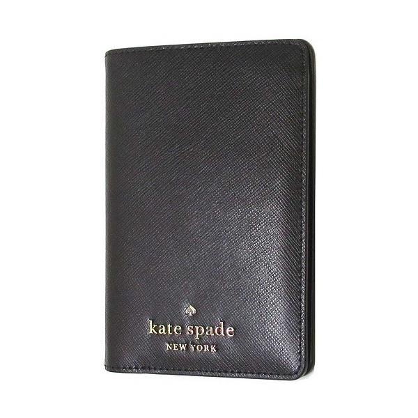 Kate spade ケイトスペード アウトレット ステーシー レザー パスポートホルダー ウォレット パスポートケース  WLR00142 001 n210604