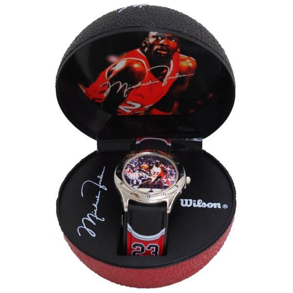 NBA マイケル・ジョーダン バスケットボール 腕時計 Wilson レアアイテム【1910価格変更】|selection-j