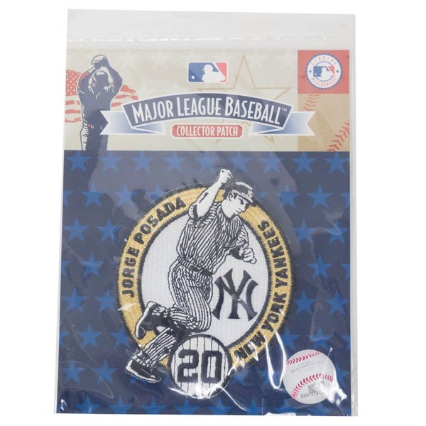 MLB ホルヘ・ポサダ ヤンキース Jorge Posada Collection パッチ ワッペン The Emblem Source