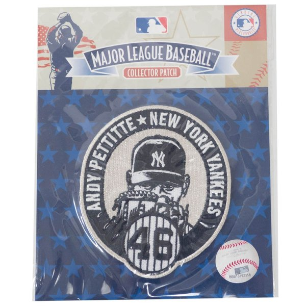 MLB アンディ・ペティット ヤンキース Andy Pettitte Collection パッチ ワッペン The Emblem Source