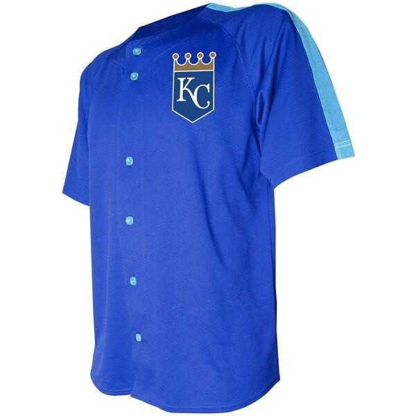 MLB カンザスシティ・ロイヤルズ ユニフォーム/ジャージ ロゴ ボタン ...