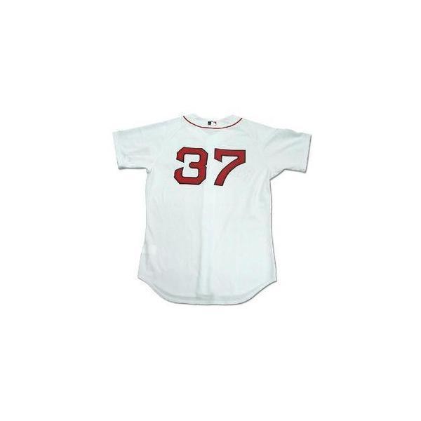 即日発送可 MLB レッドソックス 岡島秀樹 ユニフォーム ホーム マジェスティック Authentic Player ユニフォーム|selection-j