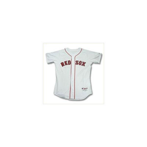 即日発送可 MLB レッドソックス 岡島秀樹 ユニフォーム ホーム マジェスティック Authentic Player ユニフォーム|selection-j|02