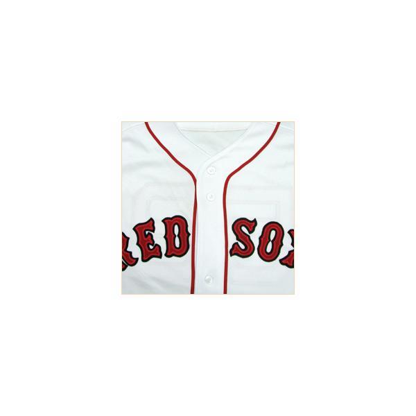 即日発送可 MLB レッドソックス 岡島秀樹 ユニフォーム ホーム マジェスティック Authentic Player ユニフォーム|selection-j|04