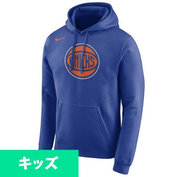 NBA ニックス パーカー/フーディー ユース  エッセンシャル ロゴ ナイキ/Nike ロイヤル