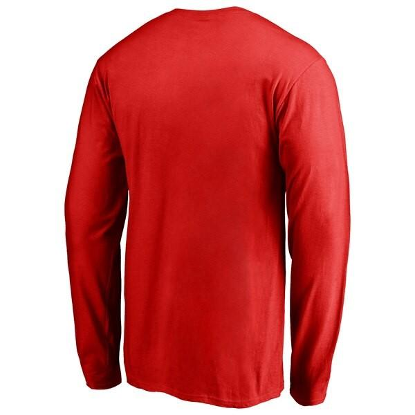 NBA Tシャツ ラプターズ ディズニー ゲーム フェイス ロングスリーブ ロンT  レッド【1910価格変更】【1911NBAt】|selection-j|03