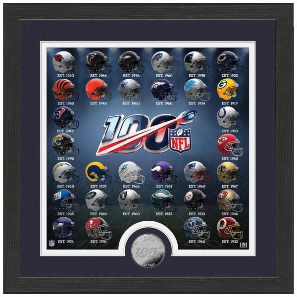 NFL 100周年記念 ヘルメットフォト コイン The Highland Mint