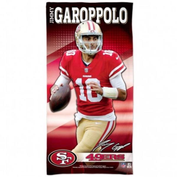 NFL ジミー・ガロポロ 49ers Beach Towel  タオル バスタオル ビーチタオル ウィンクラフト/WinCraft 熱中症対策