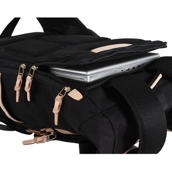 【Wノベルティ対象商品】アッソブ リュック メンズ バッグ ブランド ロールトップ 大容量 AS2OV 011424
