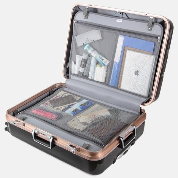 スーツケース Lサイズ エース ACE 90L フレームタイプ TSAロック Z.N.Y ゼット・エヌ・ワイ ラウビル 軽量 国内旅行 海外旅行 出張 06382|selection|12