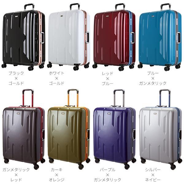 スーツケース Lサイズ エース ACE 90L フレームタイプ TSAロック Z.N.Y ゼット・エヌ・ワイ ラウビル 軽量 国内旅行 海外旅行 出張 06382|selection|03