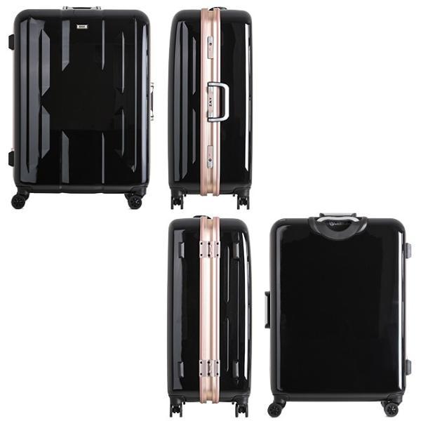 スーツケース Lサイズ エース ACE 90L フレームタイプ TSAロック Z.N.Y ゼット・エヌ・ワイ ラウビル 軽量 国内旅行 海外旅行 出張 06382|selection|07