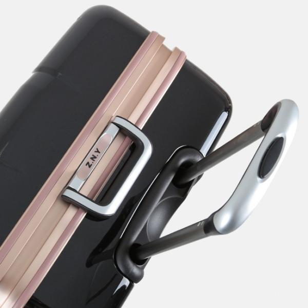 スーツケース Lサイズ エース ACE 90L フレームタイプ TSAロック Z.N.Y ゼット・エヌ・ワイ ラウビル 軽量 国内旅行 海外旅行 出張 06382|selection|08