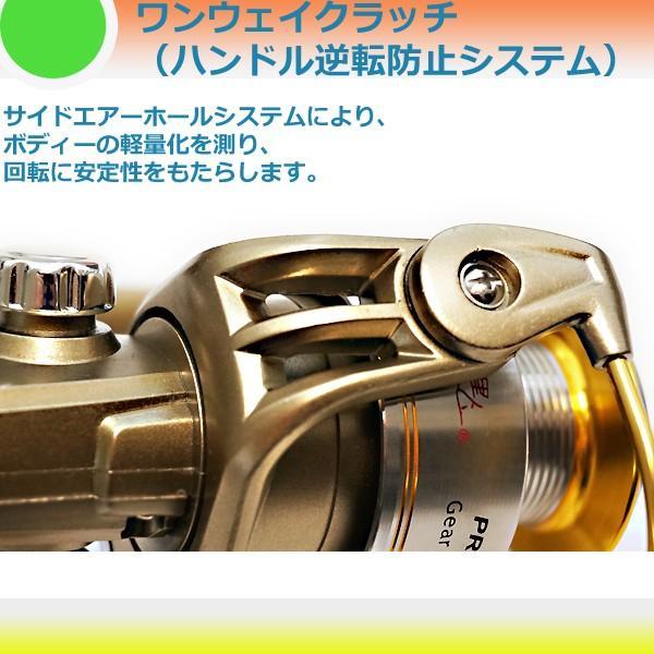 スピニングリール Princess X4000GOLD. 4000番クラス 3BB+1WAY