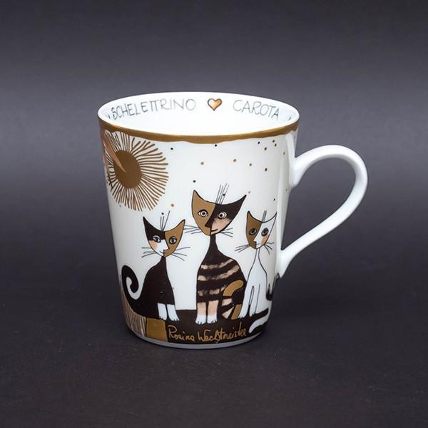 ゲーベル ロジーナキャット 猫たちの名前が書かれたマグ|selectors
