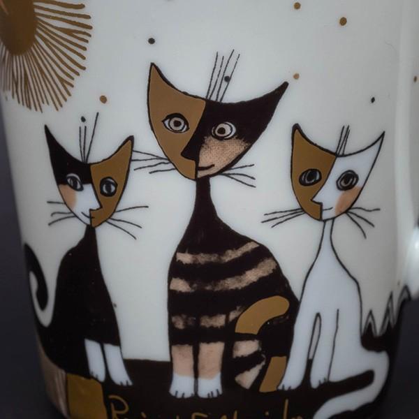 ゲーベル ロジーナキャット 猫たちの名前が書かれたマグ|selectors|03