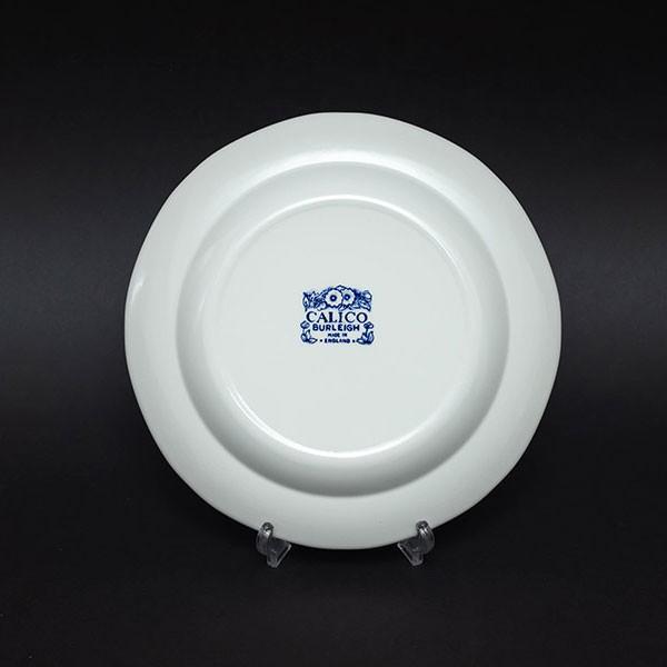 バーレイ ブルーキャリコ 21cmプレート|selectors|03