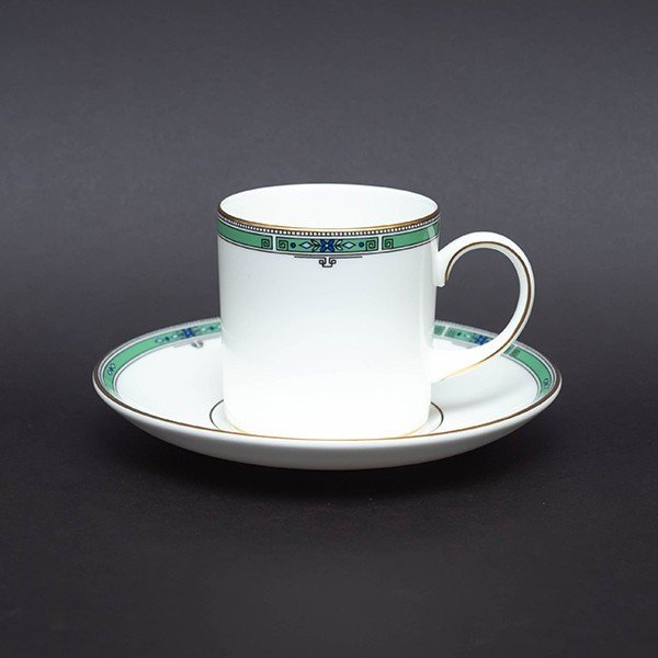 ウェッジウッド ジェイド コーヒーカップ&ソーサー(キャン)|selectors