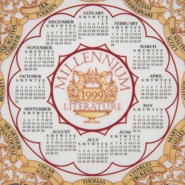 ウェッジウッド カレンダープレート(1999年)|selectors|02