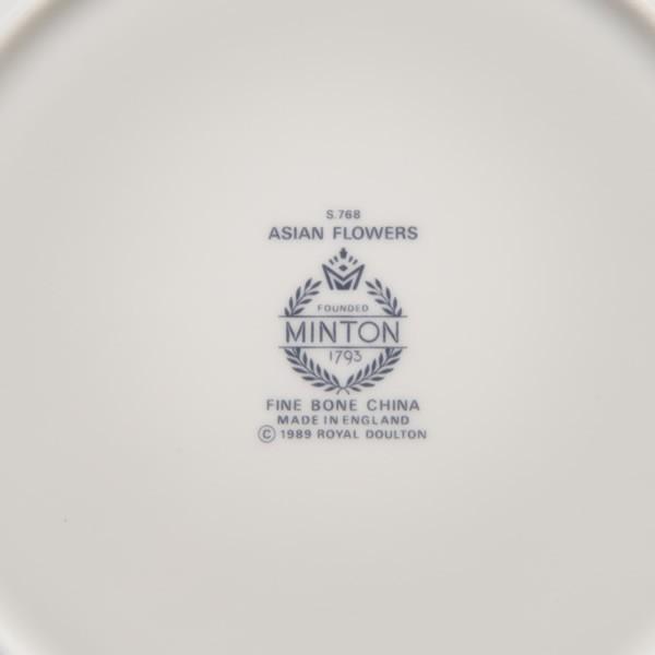 ミントン アジアンフラワーズ 21cmプレート|selectors|04