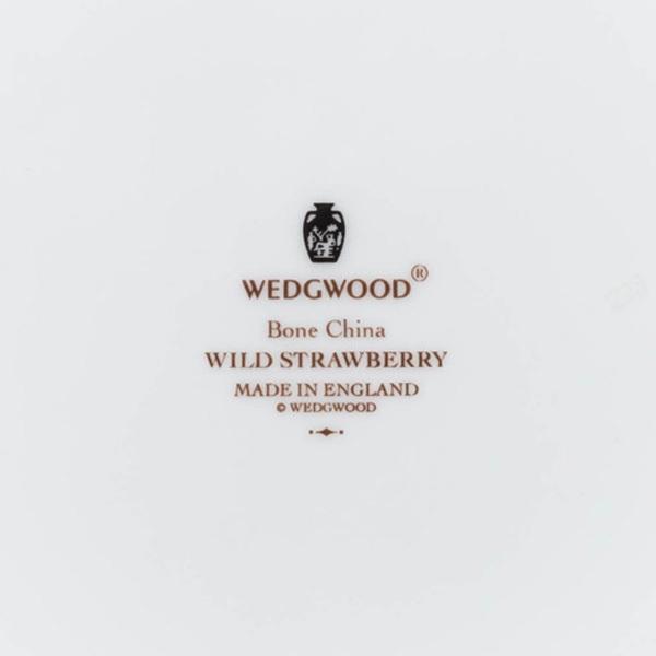 ウェッジウッド ワイルドストロベリー アクセント(グリーン)20cmプレート selectors 04