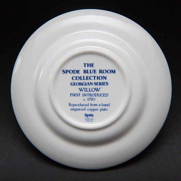 スポード ブルールームコレクション(ウィロー) ミニプレート|selectors|03
