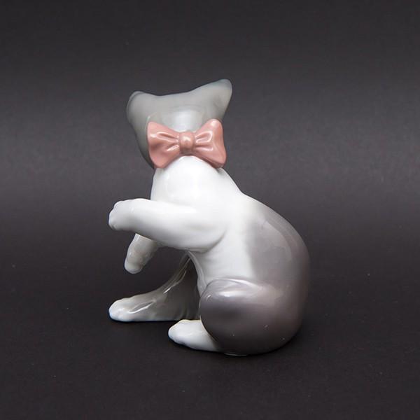 リヤドロ フィギュリン 『Cat and mouse(ネコとネズミ)』 selectors 05