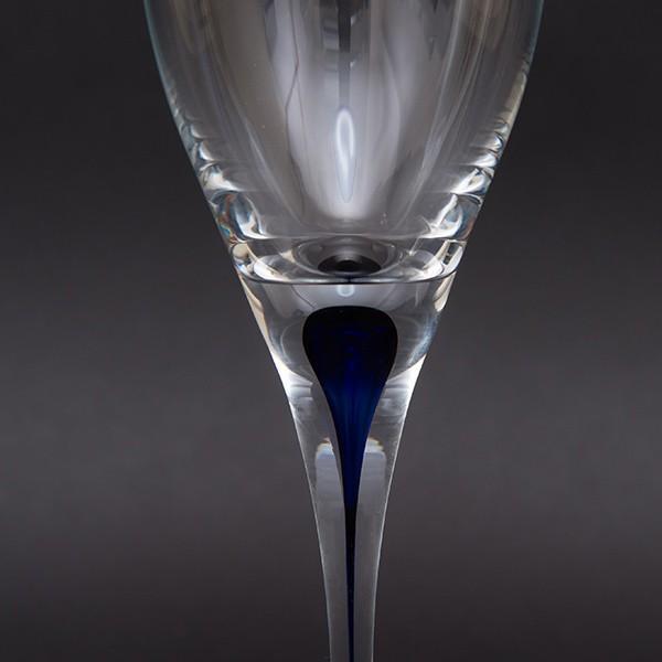 オレフォス インターメッツォ ホワイトワイングラス(ブルー) ペア|selectors|04