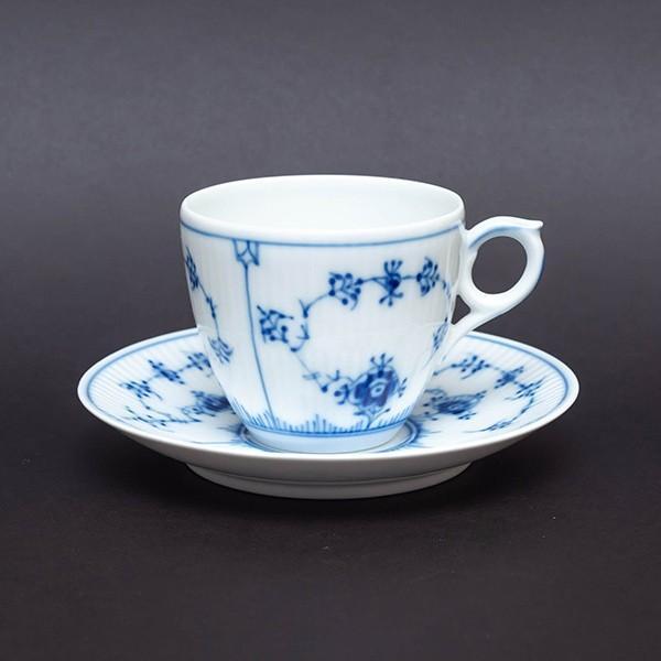 ロイヤル・コペンハーゲン ブルーフルーテッドプレイン コーヒーカップ&ソーサー selectors