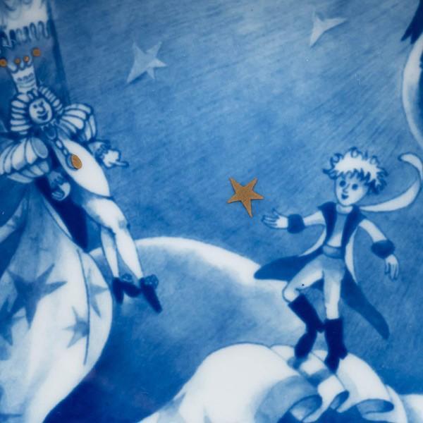 マイセン 童話ミニプレート『The little prince(星の王子様)』 selectors 02