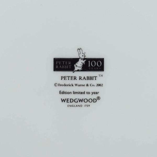 ウェッジウッド ピーターラビット 絵本出版100周年記念プレート|selectors|03