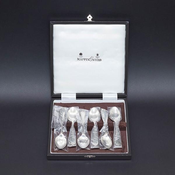 マッピン&ウェッブ ルイ16世様式 ティースプーン(スターリングシルバー)6本セット selectors