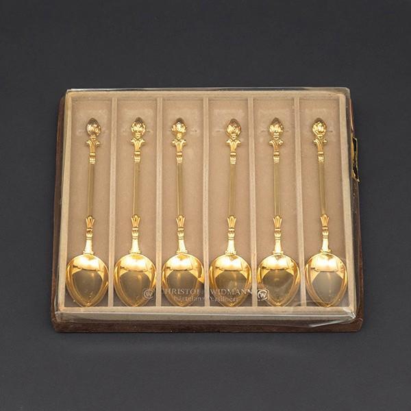 クリストフ・ウィドマン デコクラシックゴールド ティースプーン(6本セット)|selectors