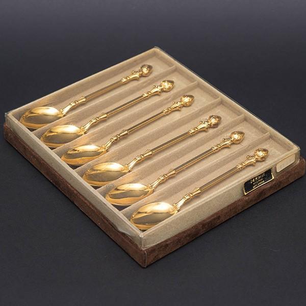 クリストフ・ウィドマン デコクラシックゴールド ティースプーン(6本セット)|selectors|02